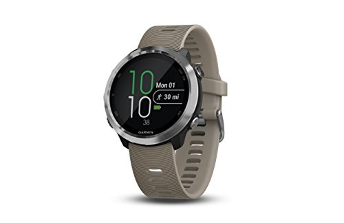 Garmin Forerunner 645, GPS running watch with Garmin Pay Contactless Payments and Wrist-based Heart Rate, Sandstone from Garmin