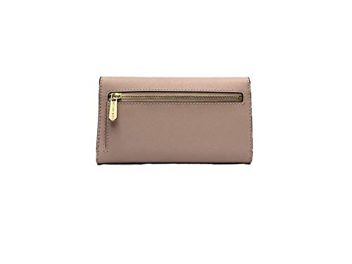 b28259bfeb2a Michael Kors Jet Set Travel Large Trifold Leather Wallet