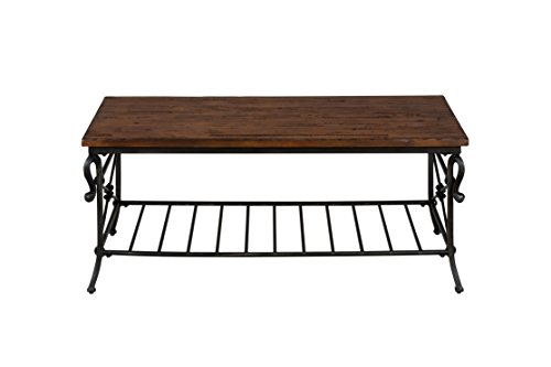 "Jofran: 772-1, Rutledge, Rectangle Cocktail Table, 48""W X 28"
