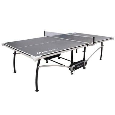 Dunlop 2-Piece Foldable Tournament Size Table Tennis Table Easy to Transport