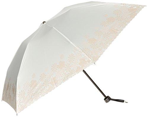 (문 배트) MOONBAT 랑방 온 블루 접이식 미니산(차열&차광) 파라솔&우산 양산 우산 겸용 안료 프린트×자수