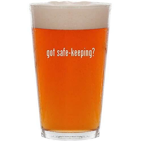 got safe-keeping? - 16oz All Purpose Pint Beer Glass ()