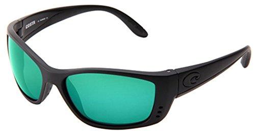 Costa Del Mar Fisch 580P Fisch, Blackout Green Mirror, Green - Del Fisch Sunglasses Costa Mar