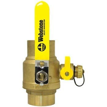 2 inch Sweat Pro-Pal Ball Valve with Hose -