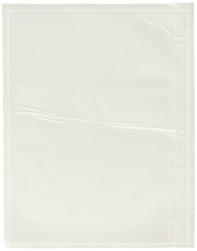 7.5″ x 5.5″ Clear Adhesive Top Loading Packing List / Shipping Label Envelopes Pouches (100 pk)