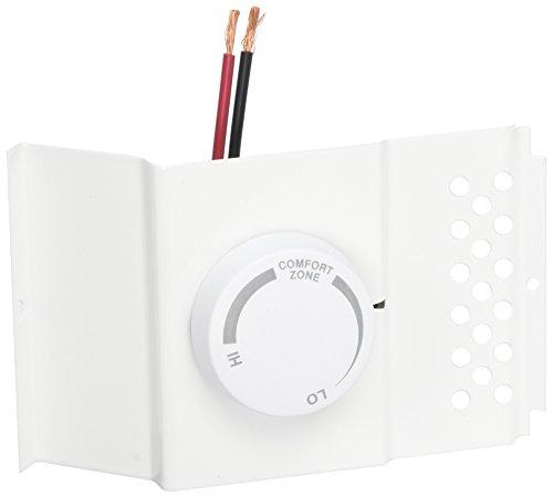 Cadet BTF1W BUB  Single Pole Thermostat Kit, 22Amp, White