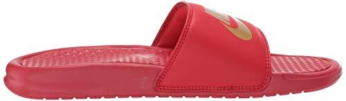 Nike Benassi Gold Red Ciabatte Jdi university metallic Multicolore 602 Uomo 466wU1a