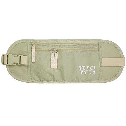 Money Belt for Travelling Hidden Security Pouch Waist Pouch for Phone Cards...