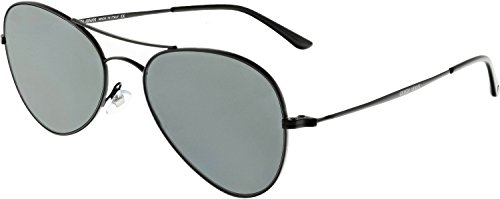 Giorgio Armani - FRAMES OF LIFE AR 6035, Aviator, metal, men, MATTE BLACK/GREY(3006/87), - Sunglasses Aviator Giorgio Armani