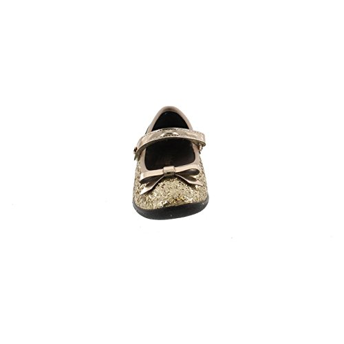 Gold Casual Dress Naturino Fashion Shoes Flats Girls 8076 qSnHTw4O