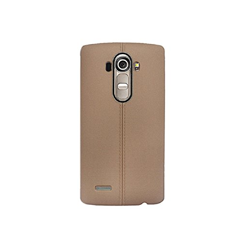 TPU Silicone Back Case for LG G4 (Brown) - 3