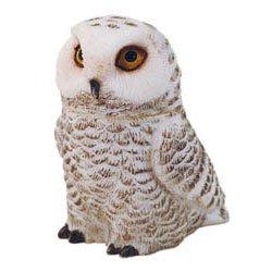 SNOWY OWL - POT BELLY SERIES (PBZOW3)