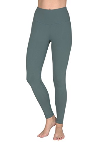 90 Degree By Reflex High Waist Powerflex Legging - Tummy Control - Sage - XS