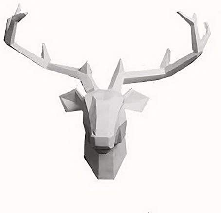 Yunno White Taxidermy Animal Sculpture product image