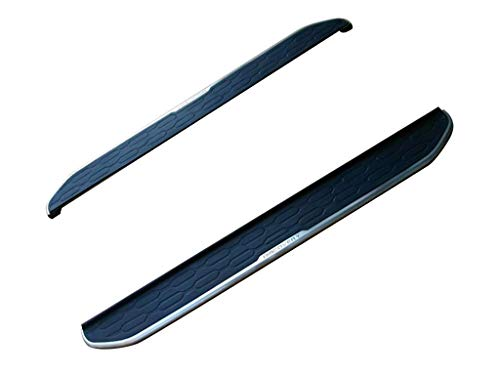 Vanguard VGSSB-1223AL Black Factory Style Running Boards Factory Style Compatible with 15-18 Land Rover Discovery Sport (Land Bars Bull Rover)