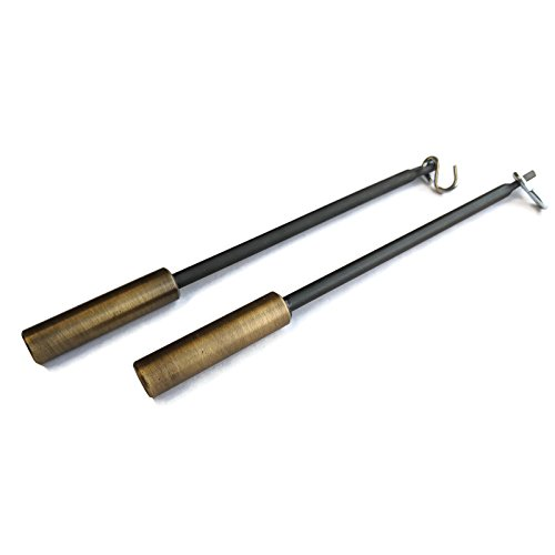 - Midwest Hearth Fireplace Screen Positive Control Pulls, Wands, and Batons (7