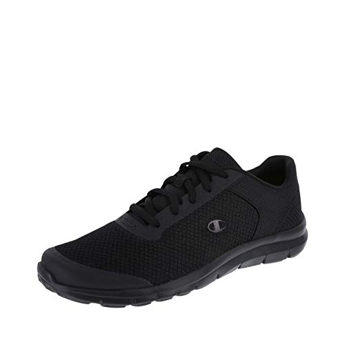 Champion Men's Black Gusto Performance Cross Trainer 9.5 Regular (Champions Sneakers Men)