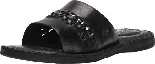 Born St. Francis Black Full Grain Leather Women's Sandals