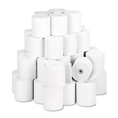 """NCR 856911 Thermal Receipt Paper, 3-1/8"""" x 273', White, 50 Rolls/Pk"""