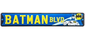 Open Road Brands Batman Boulevard Metal Street Sign