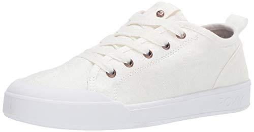 Roxy Women's Thalia Shoe Sneaker, White Hacienda, 10 Medium US