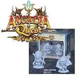Tiaret And Mittens Arcadia Quest Miniatures CMoN