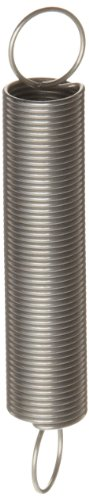 Extension Spring, 316 Stainless Steel, Inch, 0.5