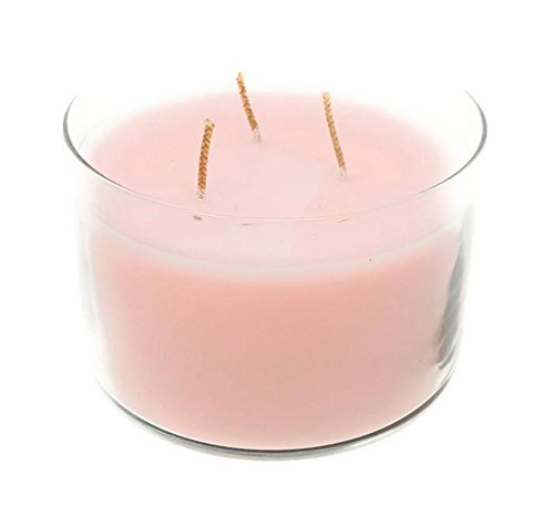 Long-burning Scented Jar Candle, (Apple Blossom), 32 OZ Three-Wick Glass Jar, by PartyLite Three Wick Glass