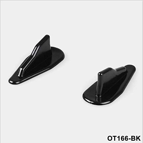 Universal EVO-Style PP Roof Shark Fins Spoiler Wing Kit Vortex Generator 10PC