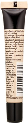 Maybelline Facestudio Master Conceal, Light, Full-coverage and High-resistance Formula. Maximum Conceal. No Reveal (0.4 fluid ounces)