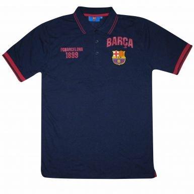 FCB Polo de Manga Corta FC Barcelona Talla:M 40-44