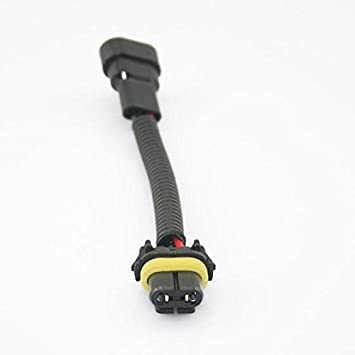 31BI33BzksL._SY355_ amazon com partssquare 9006 9012 hb4 fog headlight power wiring 9012 hid wiring harness at edmiracle.co