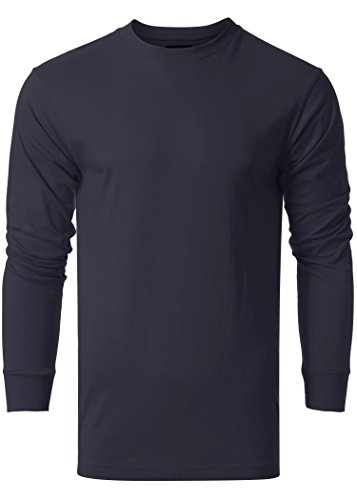 Long Sleeve Fitted Crew Tee - 1