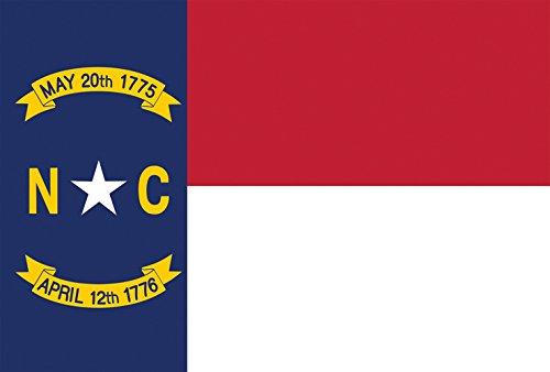 (Toland Home Garden North Carolina State Flag 12.5 x 18 Inch Decorative USA Garden Flag)
