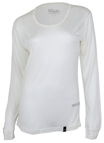 Terramar Women's Thermasilk Scoop-Neck Top