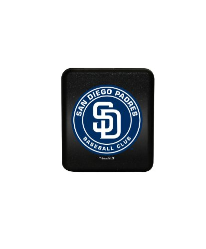 Tribeca A/C Charger, San Diego Padres, Black, 1-Count