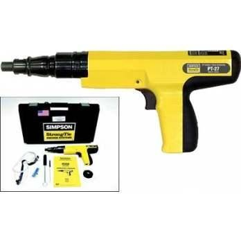 Simpson Strong Tie PT-27 .27 Caliber Strip Load Powder Actuated Tool w/Accessories