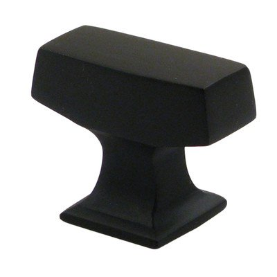 Oil Rubbed Bronze 1 3/8'' Rectangle Knob - Pack of 25