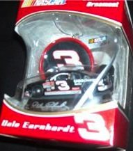Dale Earnhardt # 3 NASCAR Collectible Ornament Car by Tre...