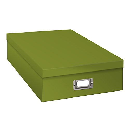 Pioneer Photo Albums Jumbo Scrapbook Storage Box, Spring Green