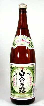 白金酒造 芋焼酎 白金の露 1800ml