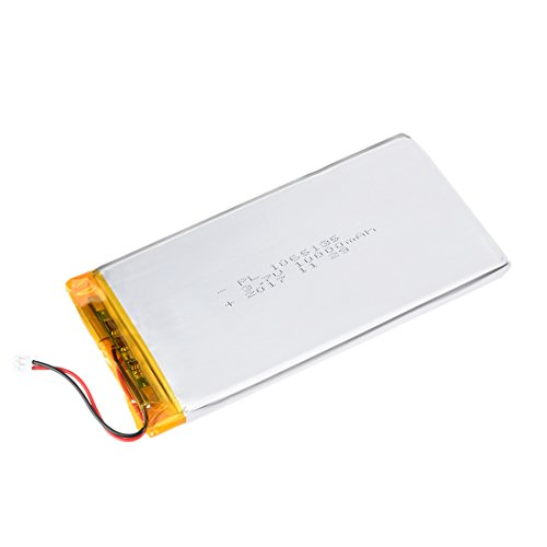 uxcell Power Supply DC 3.7V 10000mAh 1065135 i-ion Rechargeable Lithium Polymer Li-Po Battery