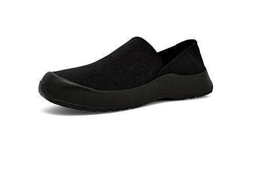 SoftScience Drift Canavas Komfort Casual Unisex Schuhe Echtes Schwarz