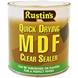 Rustins Quick Drying MDF Clear Sealer 1L