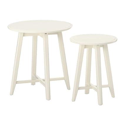 Amazon ikea nesting tables set of 2 white 6262929261038 ikea nesting tables set of 2 white 6262929261038 watchthetrailerfo