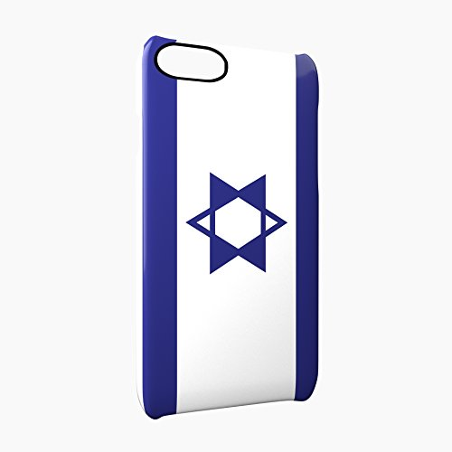 Flag of Israel Glossy Hard Snap-On Protective iPhone 7 Plus + Case Cover