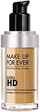 Face Makeup: Make Up For Ever Ultra HD Invisible Cover Foundation