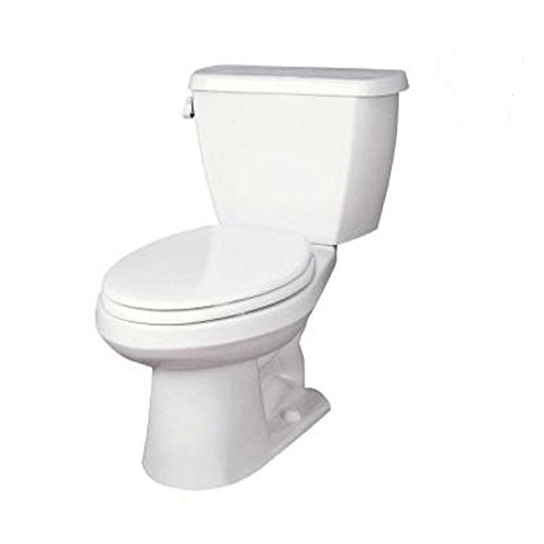 Gerber Avalanche 2-Piece High Efficiency Elongated Toilet in White