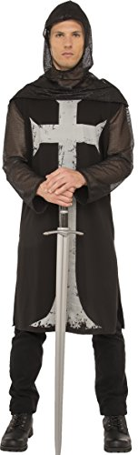 Rubie's Costume Co. Men's Gothic Knight Costume, As Shown, Standard]()
