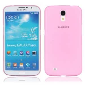 Ultra-thin Plastic Protective Case for Samsung I9200 Rose Red